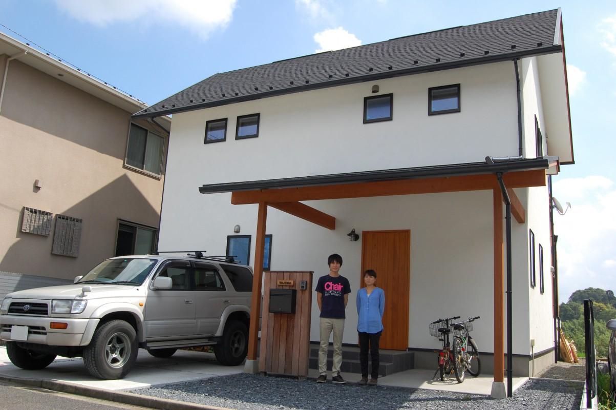 田園風景を取り込む家