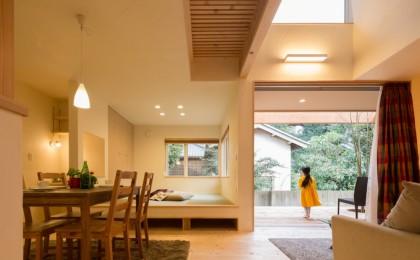 袖ケ浦市「緑と広がりのある家」