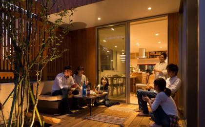 ちはら台東 「中庭を愉しむ家」