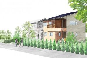 街角モデルハウス『2Fリビングで風と光を存分に楽しむ家』in長柄町