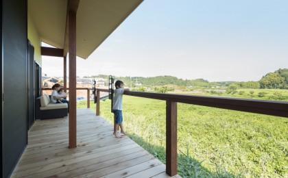 ちはら台東「棚田風景を楽しむ平屋の家」