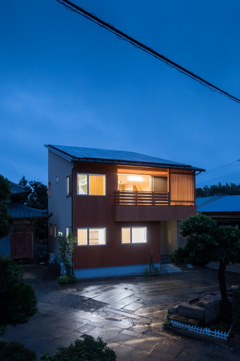 長柄町「2Fリビングで光と風を楽しむ家」 | 藍舎 あいしゃ 千葉 ...
