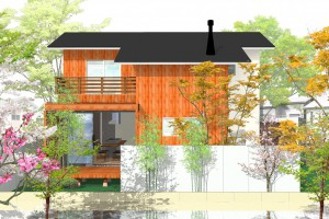街角モデルハウス「離れの和室と蒔ストーブを愉しむ家」in 大網白里市
