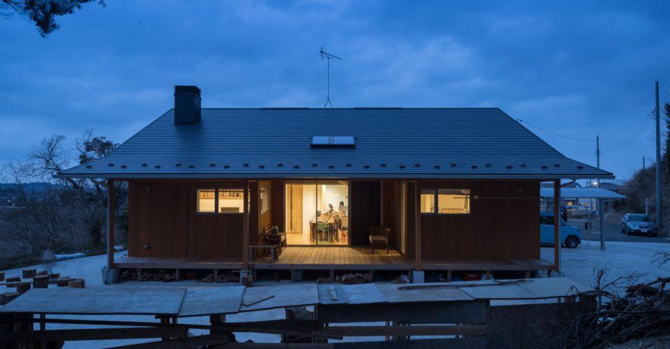 睦沢町「スキップ&薪ライフを楽しむ家」