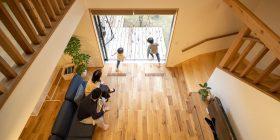 千葉市「どこにいても家族のぬくもりを感じられる家」